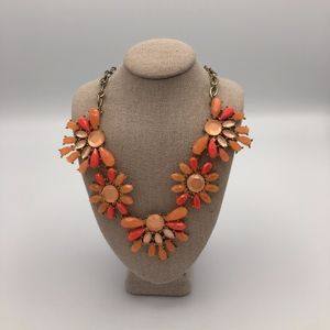 Francesca's Pink Statement Necklace